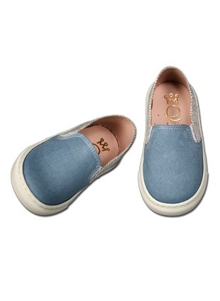 Loafer Από Δέρμα Και Ύφασμα Κωδ:2130