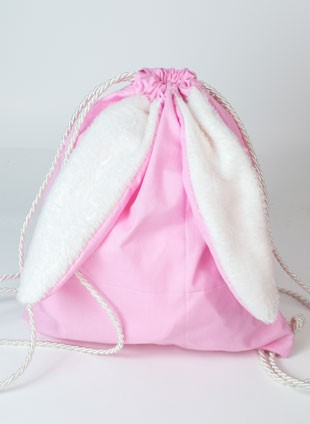 "Παιδικό Backpack ""Little Rabbit Pink"" Κωδ:VC57"